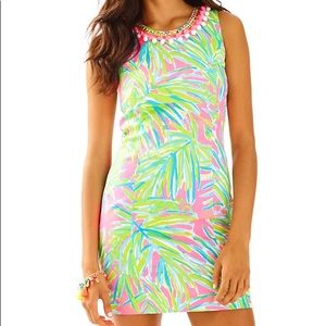Lilly Pulitzer Mika Shift in Tiki Pink